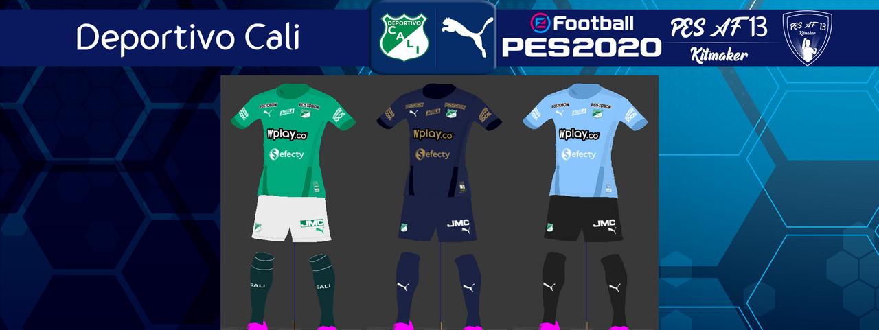 Kits Deportivo Cali by PES AF13