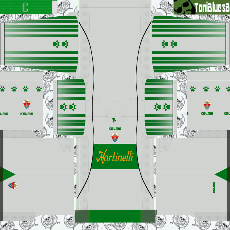 Kits retro Elche (1999) by ToniBlues8