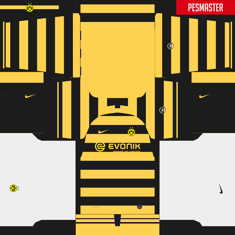 Kits fantasy Borussia Dortmund by Erick Piedy