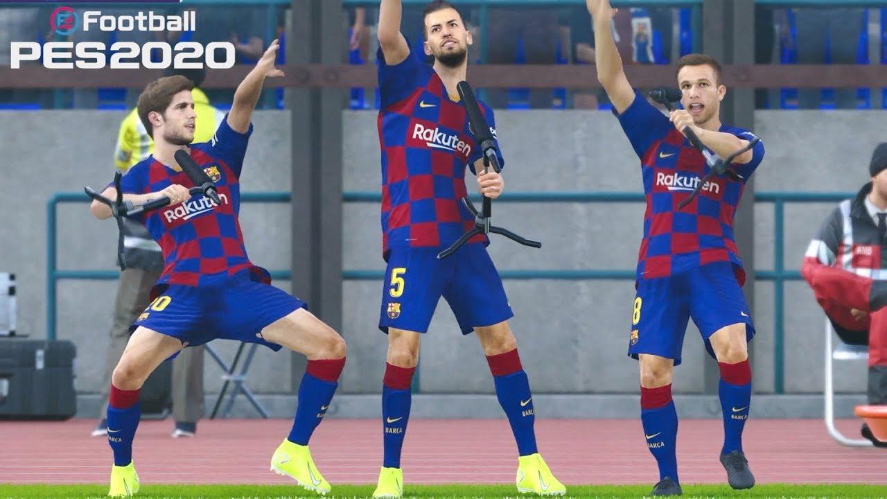 Celebraciones reales de jugadores by Juninho1986