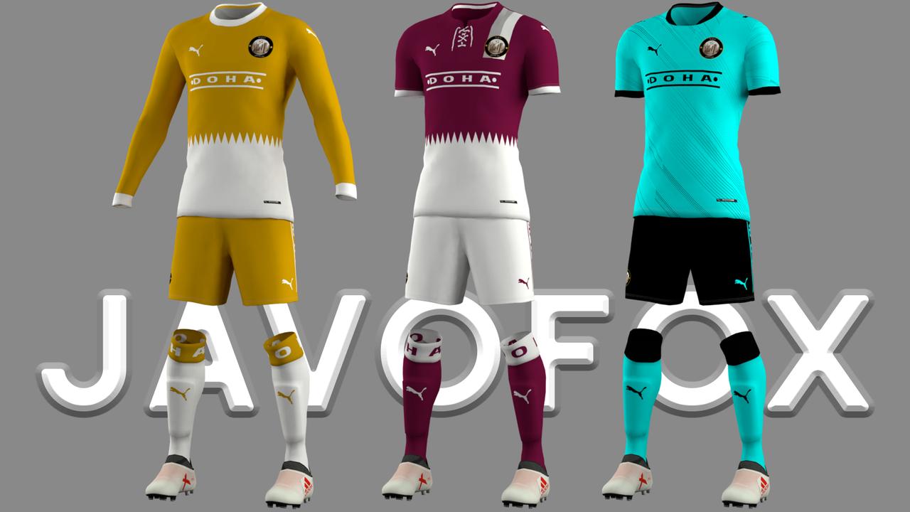 Kit fantasy Doha SC by EPX76