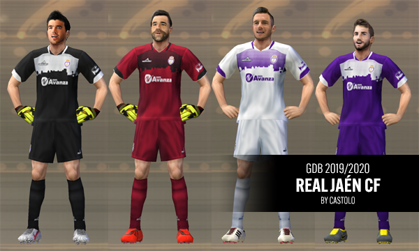 Kits Real Jaén CF 2019/2020 by Castolo