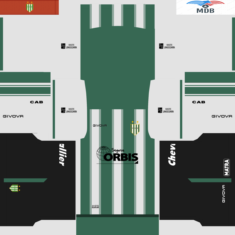Kits CA Banfield by MartinBX