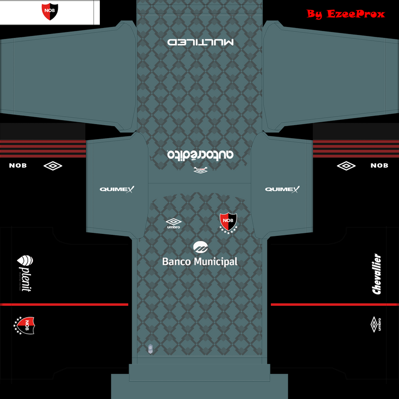 Kits Newells Old Boys 20/21 by EzeeProx