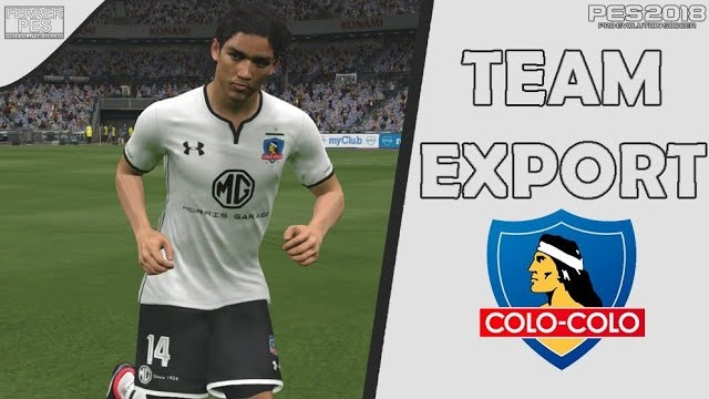 Colo-Colo Team Export by FerrerPes