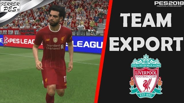 Liverpool Team Export by FerrerPes