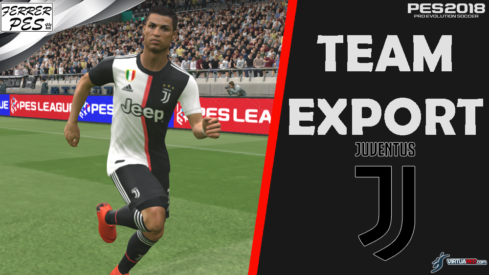 Juventus Team Export by FerrerPes