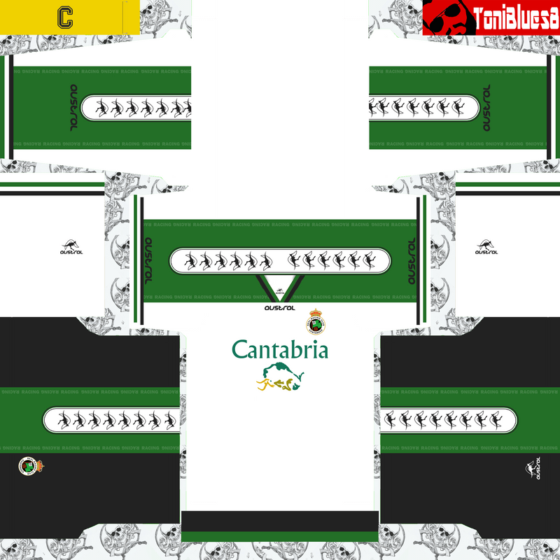 Kits retro Racing de Santander (1998) by ToniBlues8
