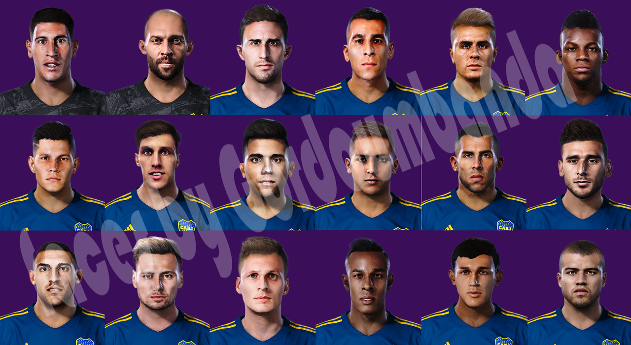 Facepack Boca Juniors by Gordoumbanda