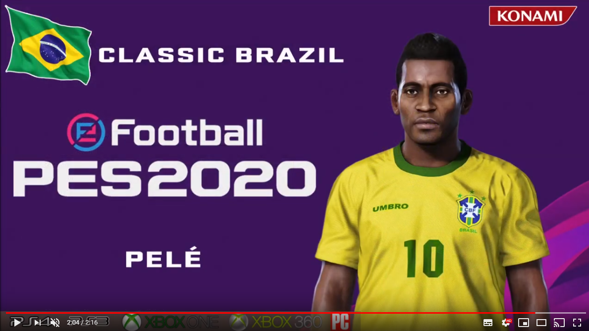 Pelé (faces + stats) by Maquiavelo40
