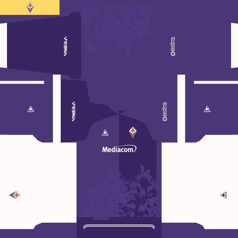 Kits fantasy Fiorentina by Erick Piedy