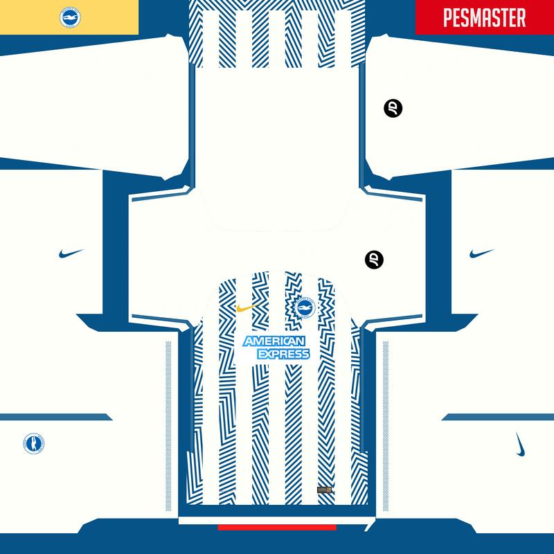 Kits fantasy Brighton & Hove Albion FC by Erick Piedy
