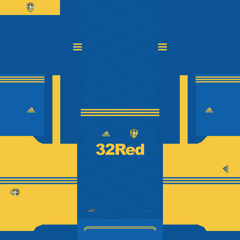 Kits fantasy Leeds United by Erick Piedy