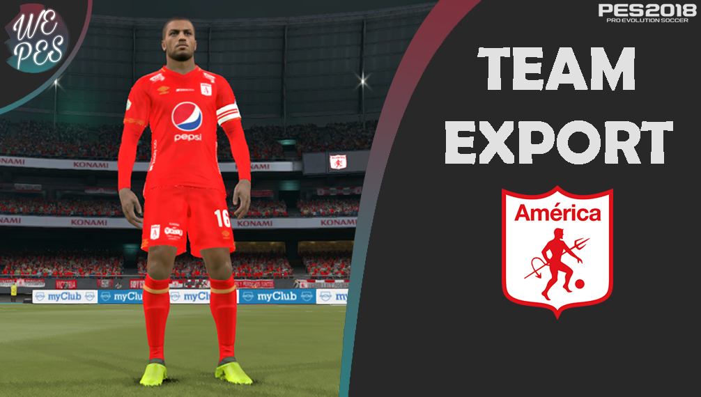 América de Cali Team Export by FerrerPes