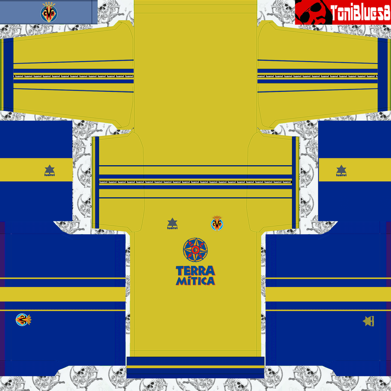 Kits retro Villareal (1999) by ToniBlues8