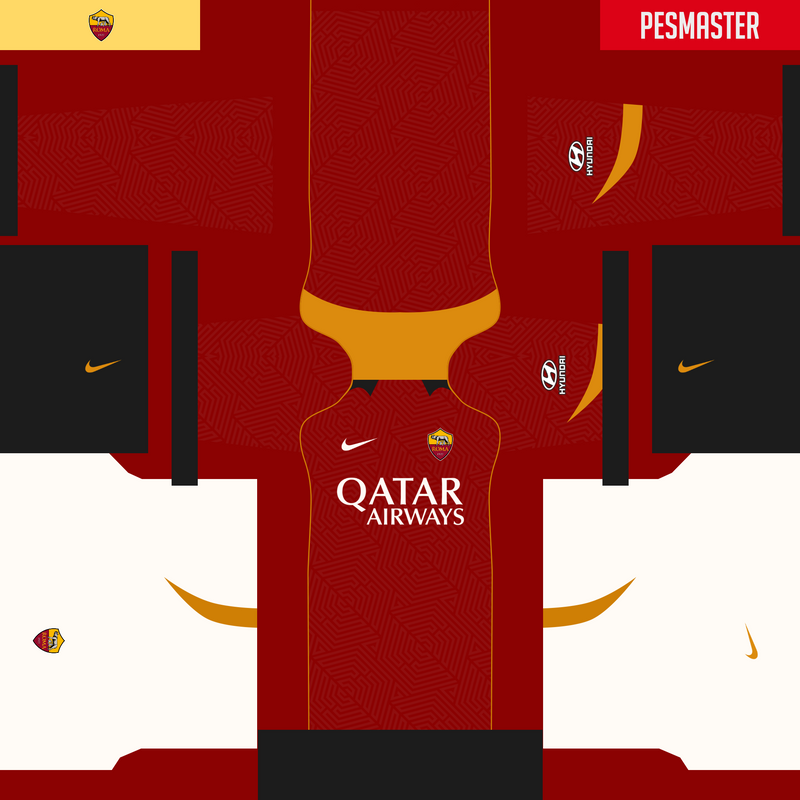 Kits fantasy AS Roma by Erick Piedy