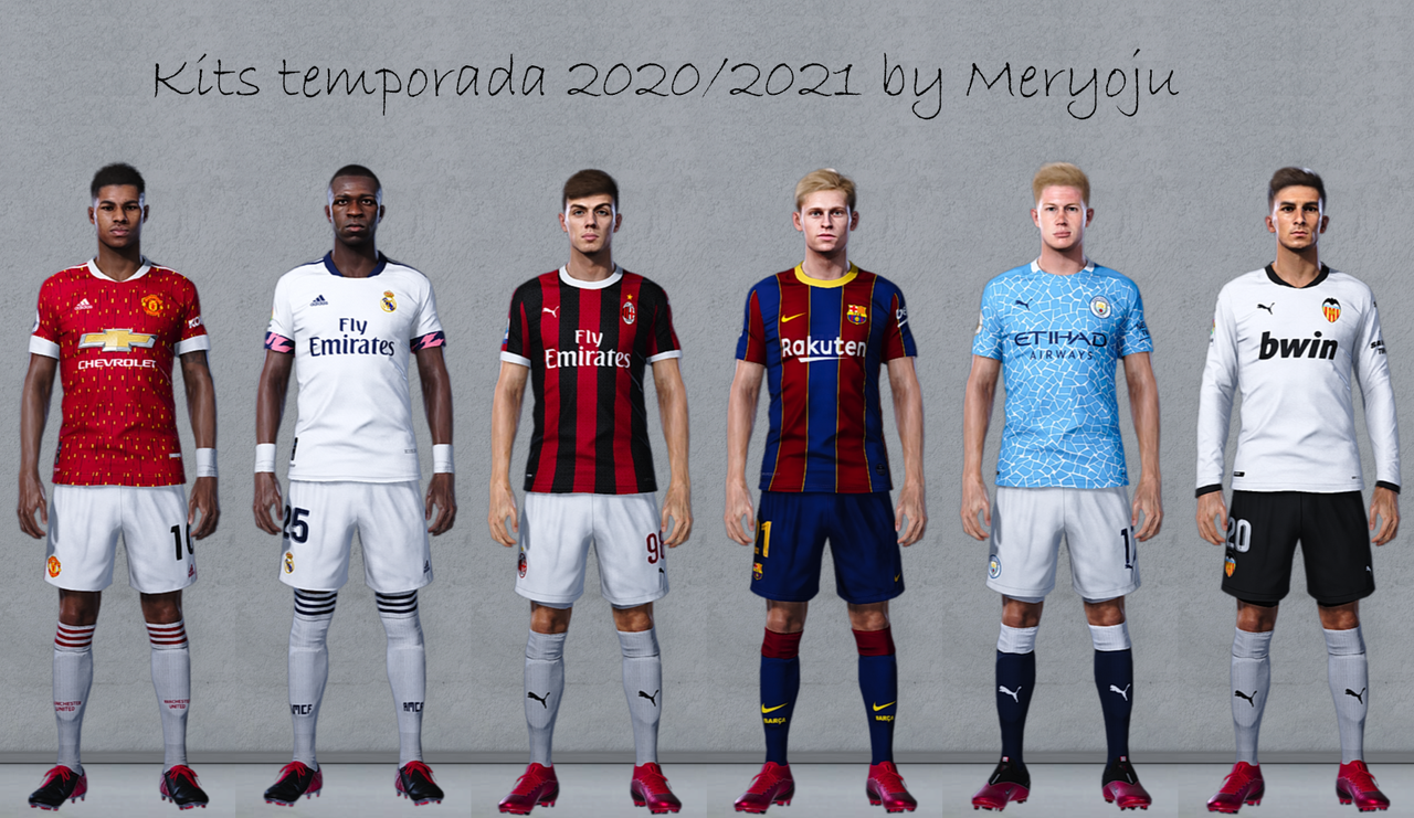 Kit pack 2020/2021 season by Meryoju