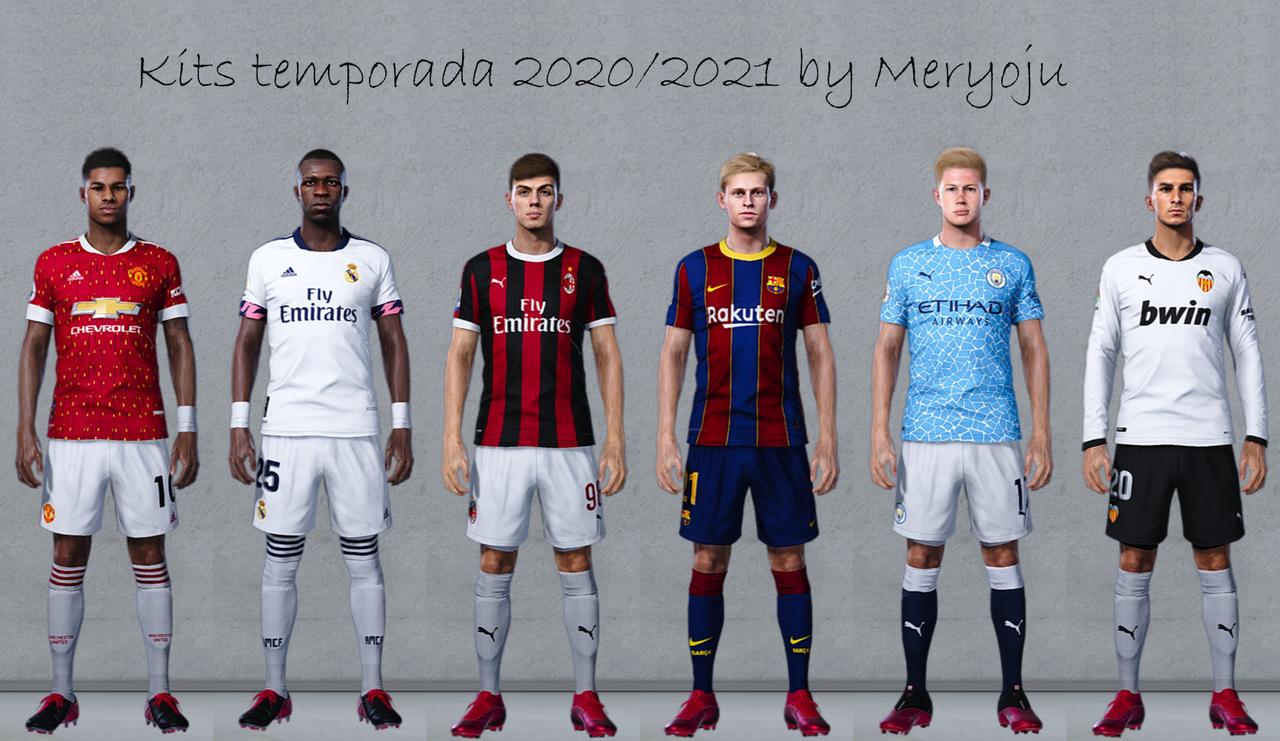 Kit pack 2020/2021 season by Meryoju