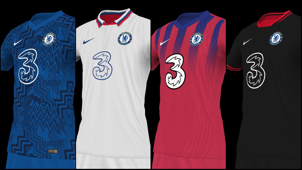 Kits Chelsea FC 2020/2021 by GioXPro