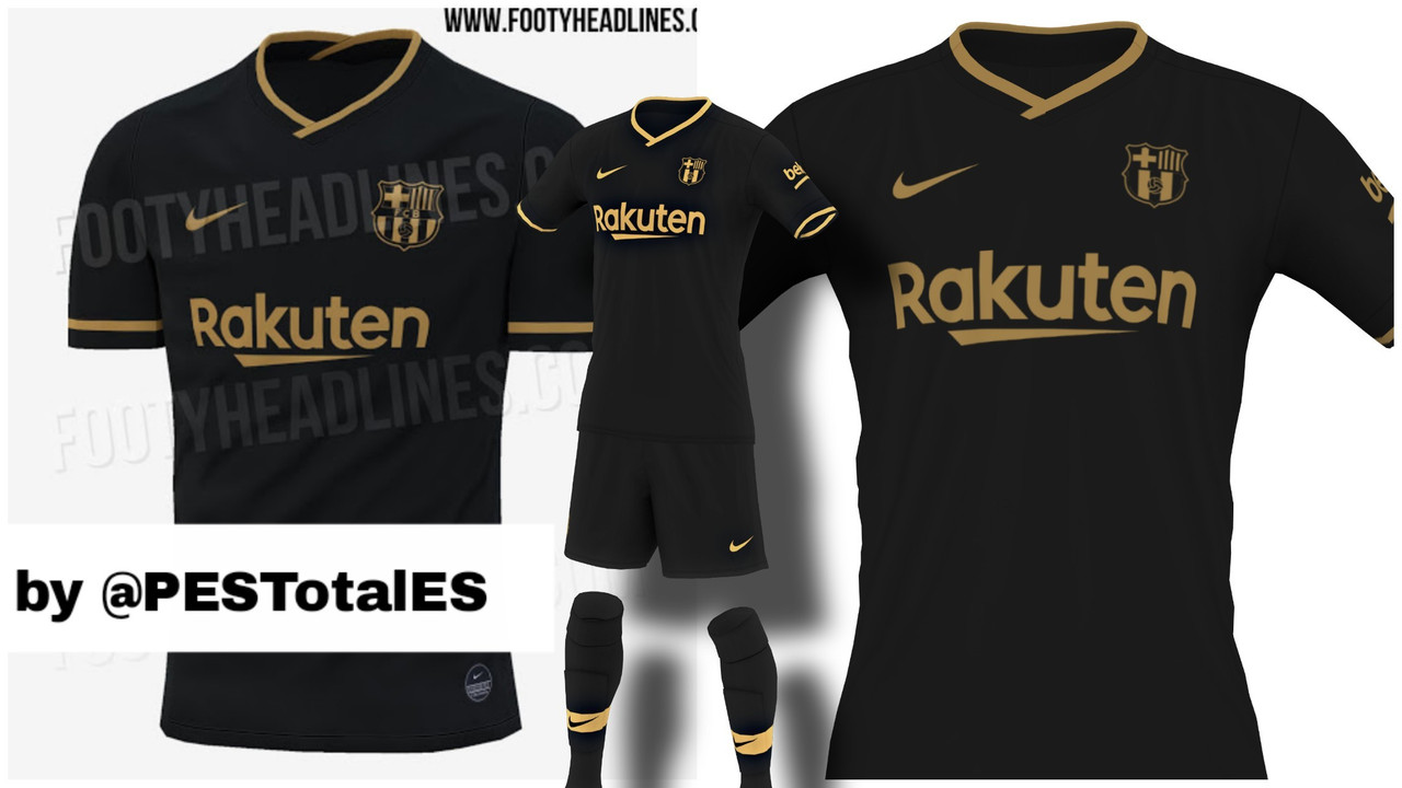 Kit Away FC Barcelona 2020/2021 by GioXPro