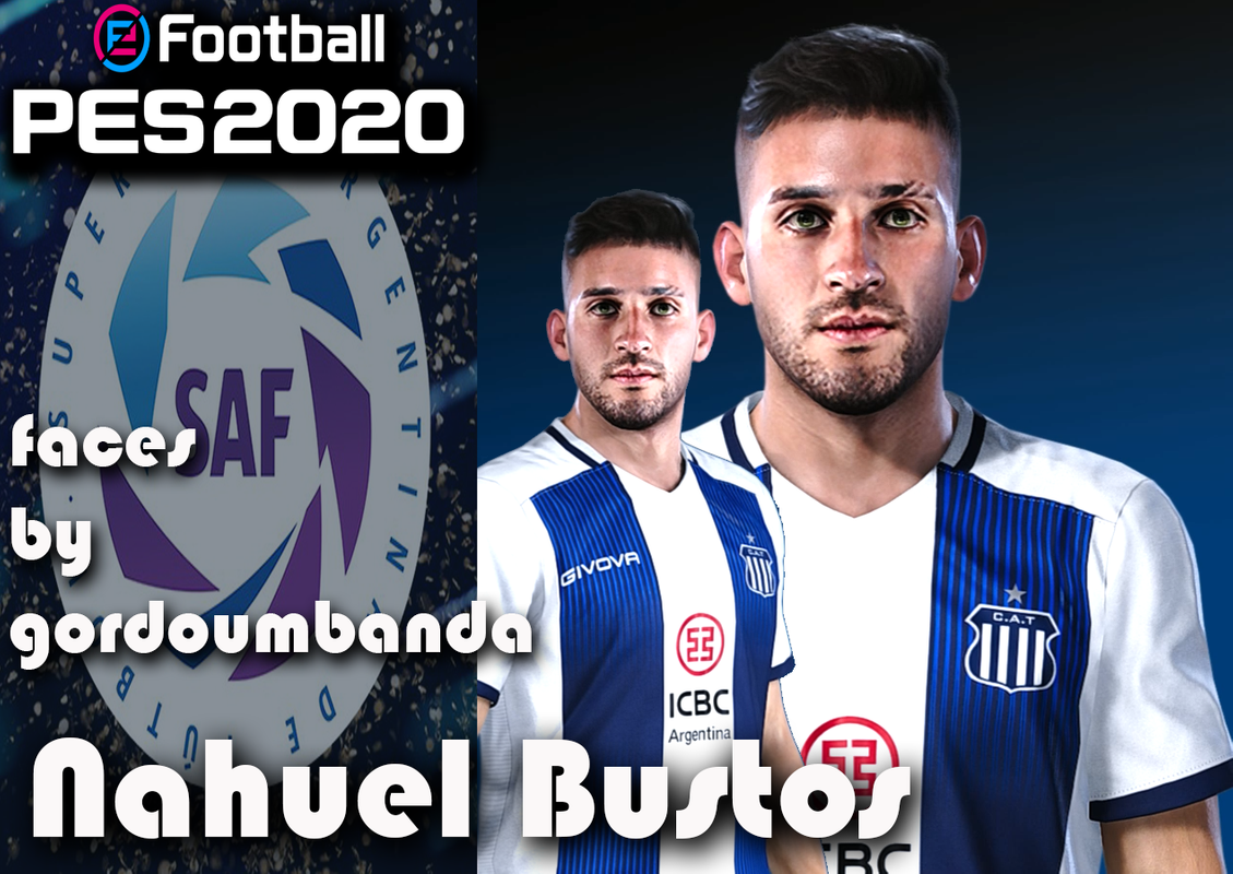 Nahuel Bustos & Thiago Almada faces by Gordoumbanda