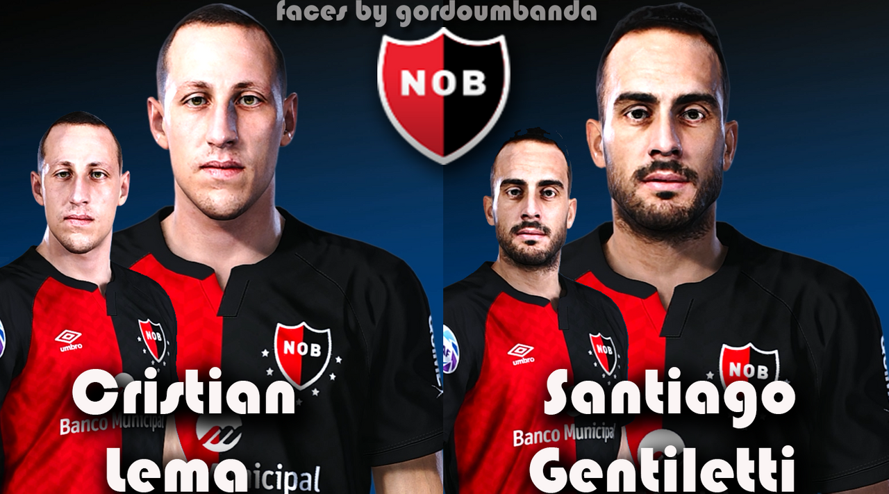 Newells Old Boys facepack by Gordoumbanda