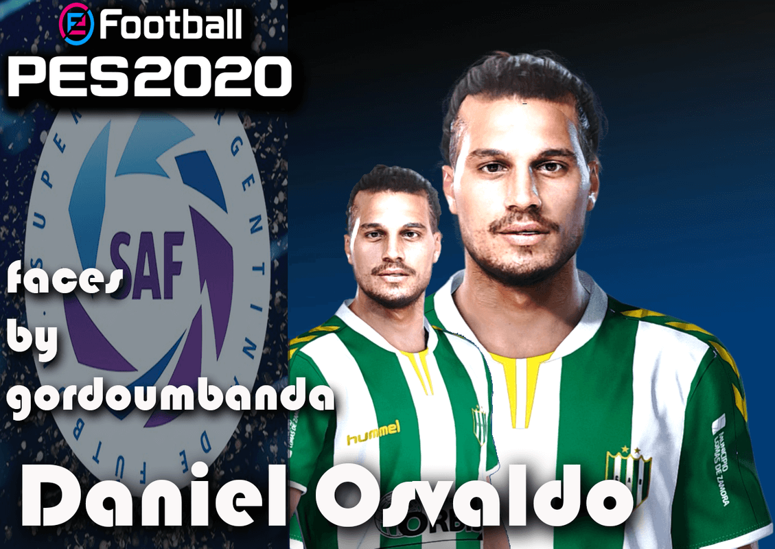 Daniel Osvaldo face by Gordoumbanda
