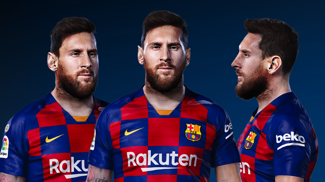Face Leo Messi by Gordoumbanda