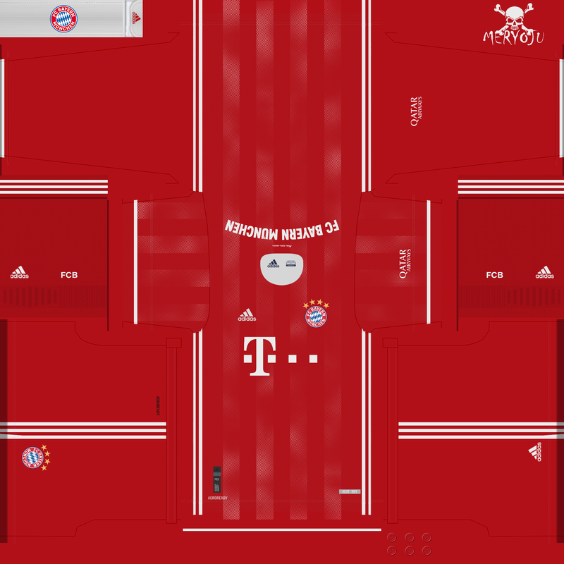 Home kit Bayern Munich 2020/2021 by Meryoju