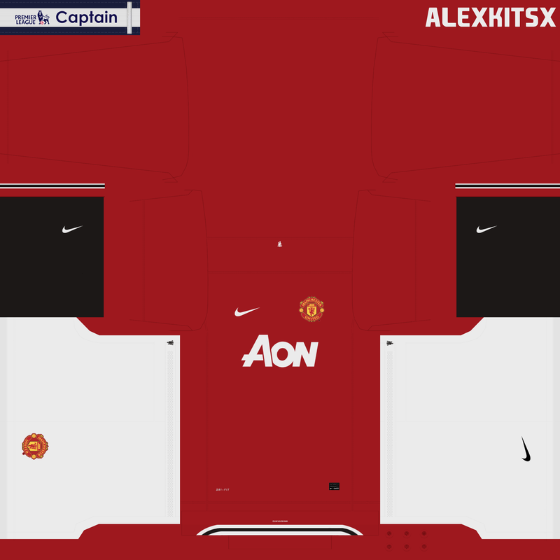 Home kit Manchester United 2011/2012 by Alexkitsx