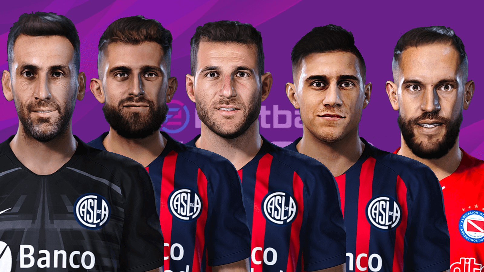 Pack faces San Lorenzo by Gordoumbanda