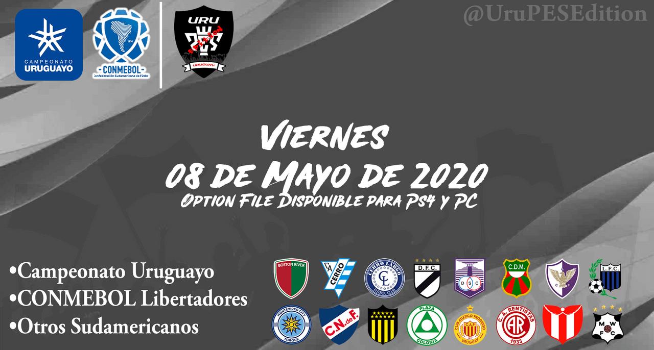 OF Campeonato Uruguayo + Conmebol Libertadores