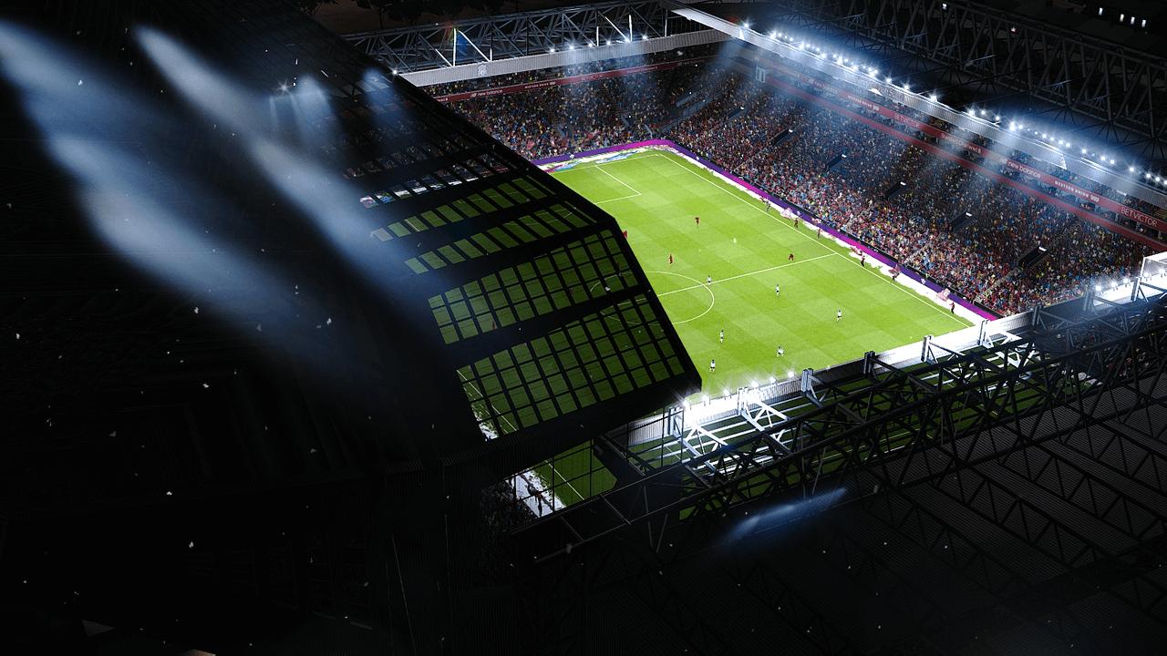 Anfield + Santiago Bernabéu Update by Jostike