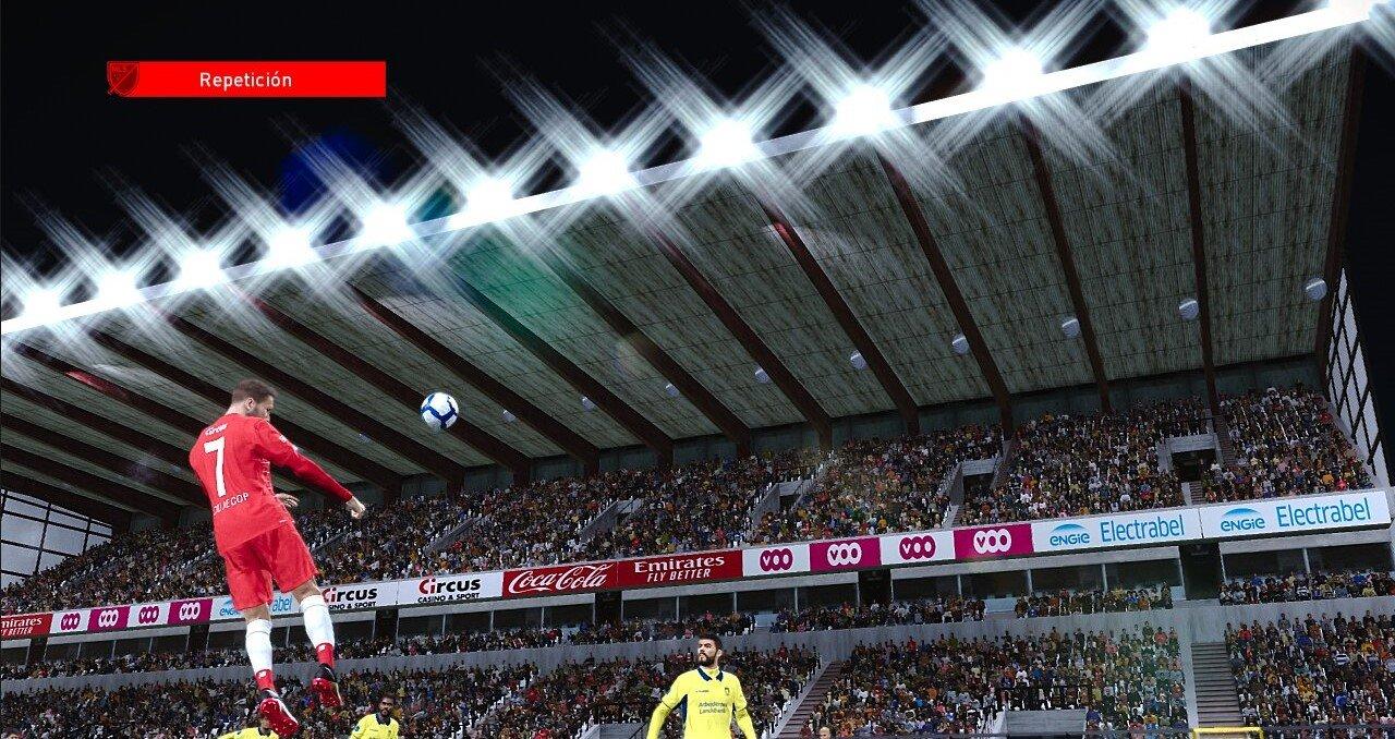 Stade Maurice Dufrasne nuevos sponsors by Garythano