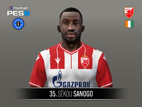 Sékou Sagogo face by Castolo