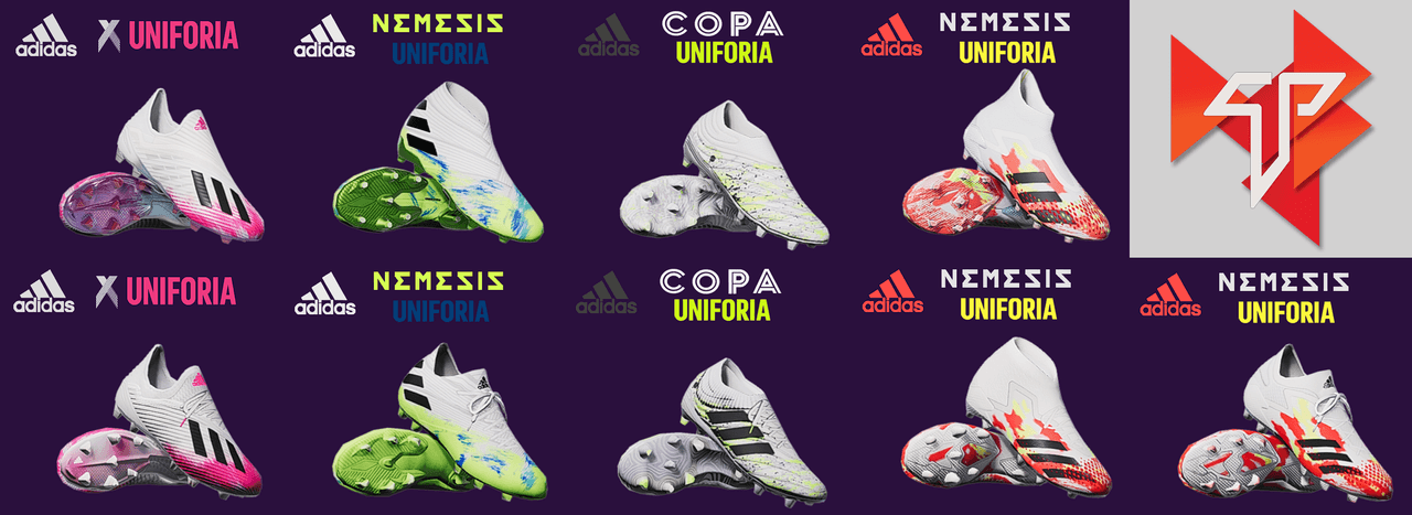 Adidas Uniforia Pack by Tisera90
