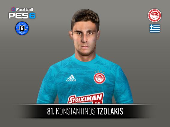 Tzolakis face by Castolo