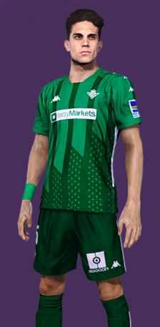 Kit visitante Real Betis 2020/2021 by CuervoGameplays
