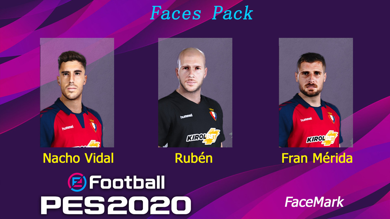 Osasuna face pack by Marcos Mark