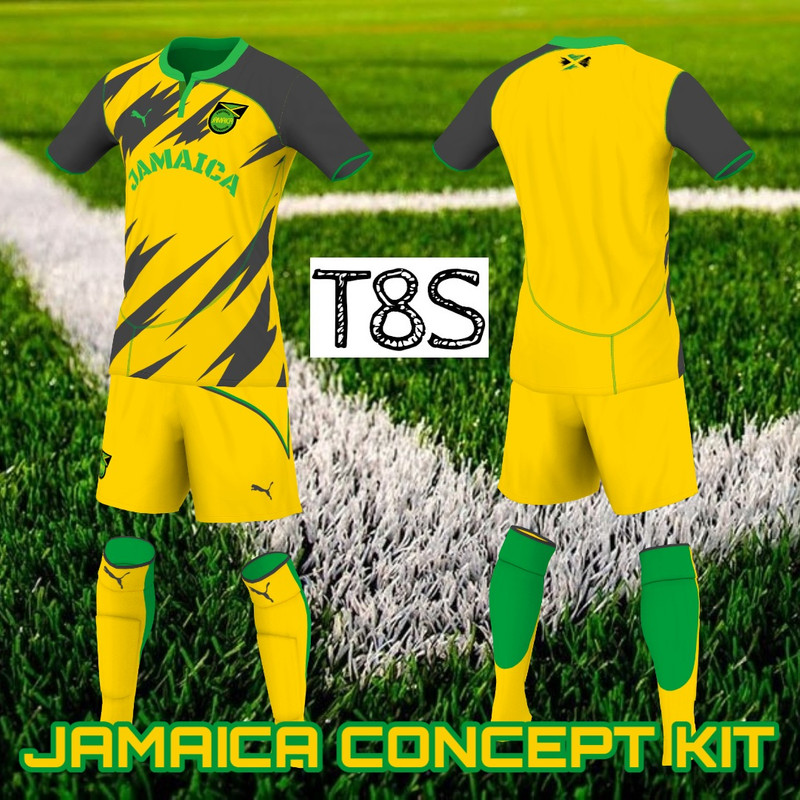 Jamaica kits concept by T8S