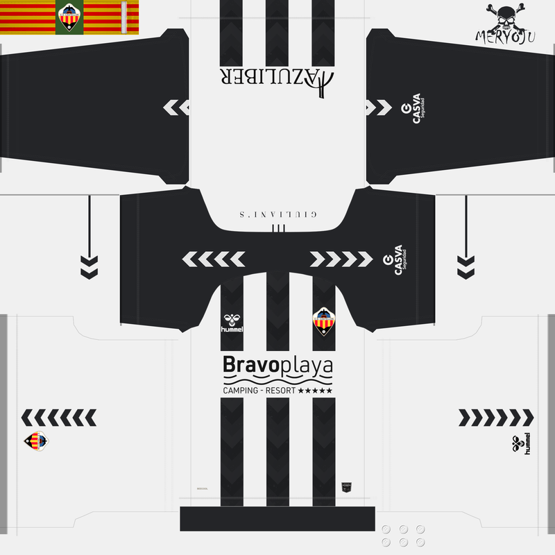Kit home CD Castellón 2020/2021 by Meryoju