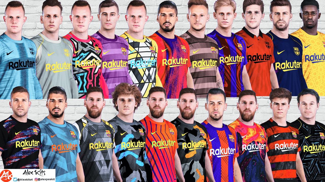 FC Barcelona concept kits by Alexkitmaker
