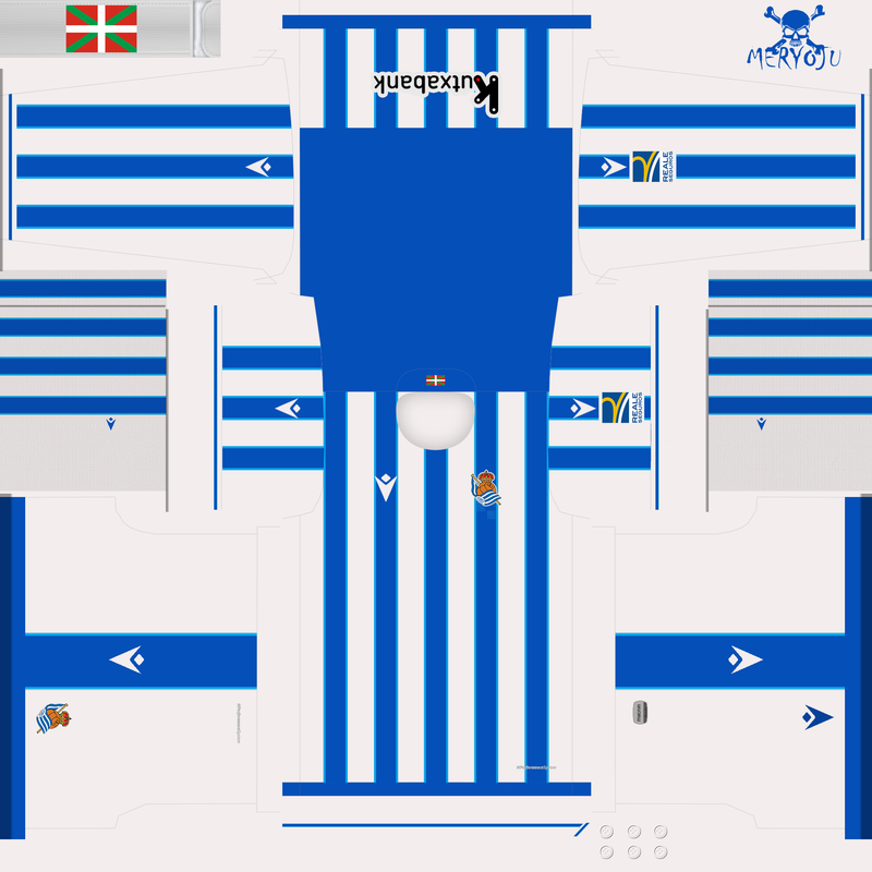 Kit home Real Sociedad 2021/2022 by Meryoju