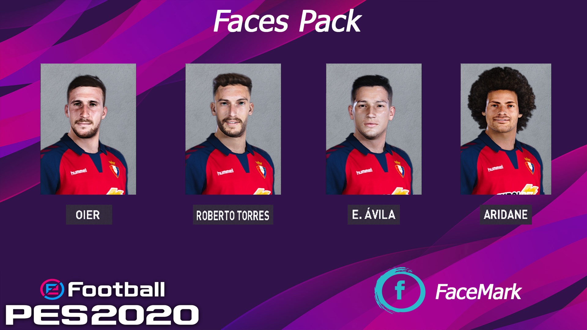 Osasuna face pack vol. 2 by Marcos Mark