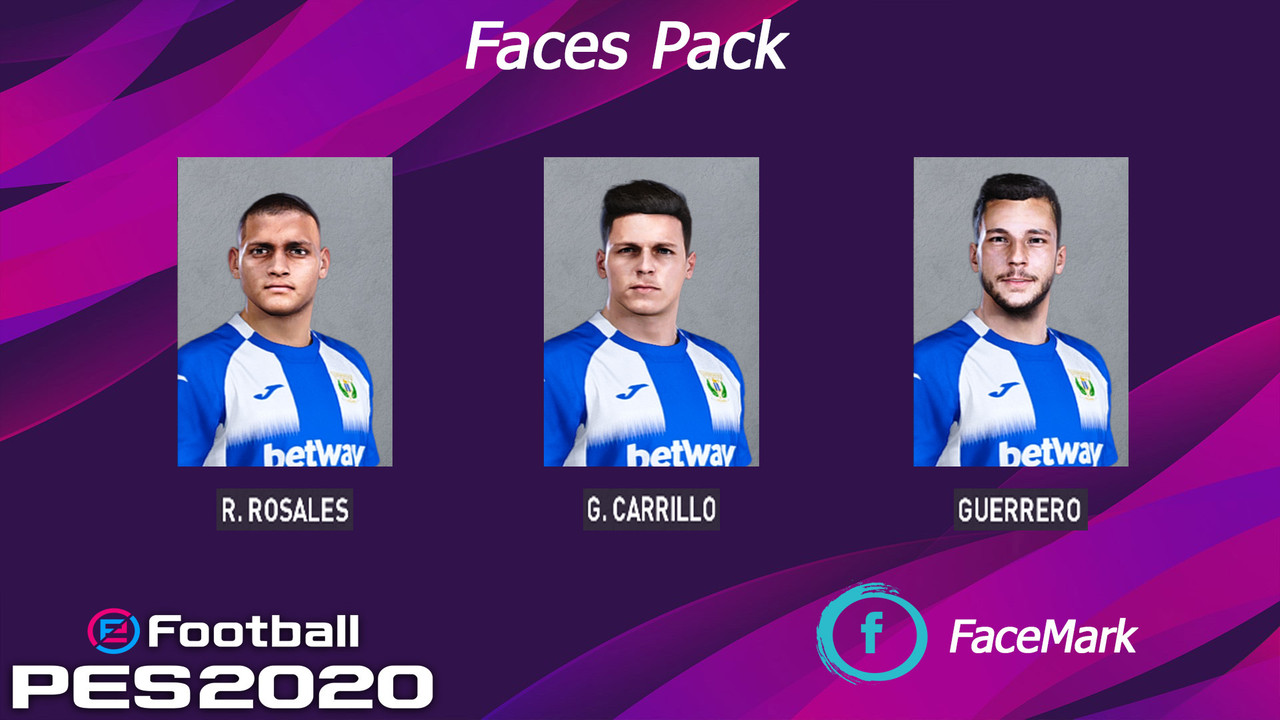 CD Leganés face pack by Marcos Mark