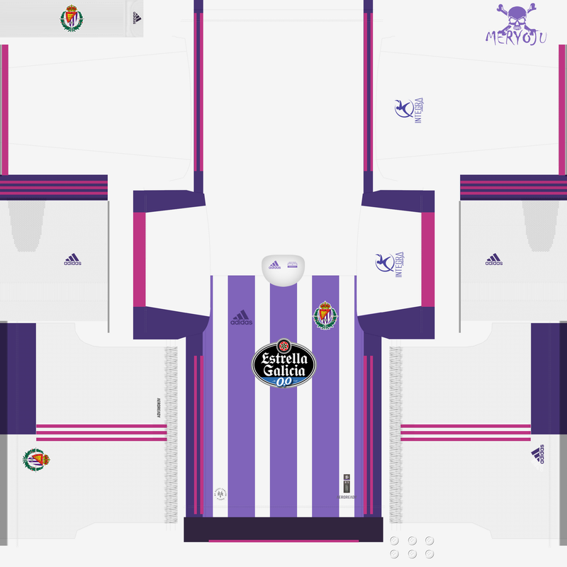 Kits Valladolid 2020/2021 by Meryoju