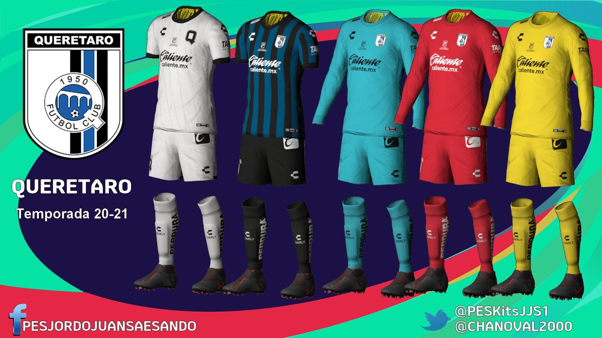 Kits Queretaro FC 2020/2021 by Sando