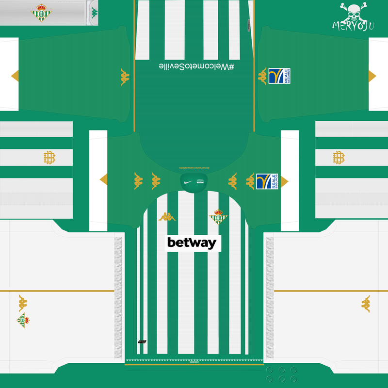 Kits Real Betis 2020/2021 by Meryoju