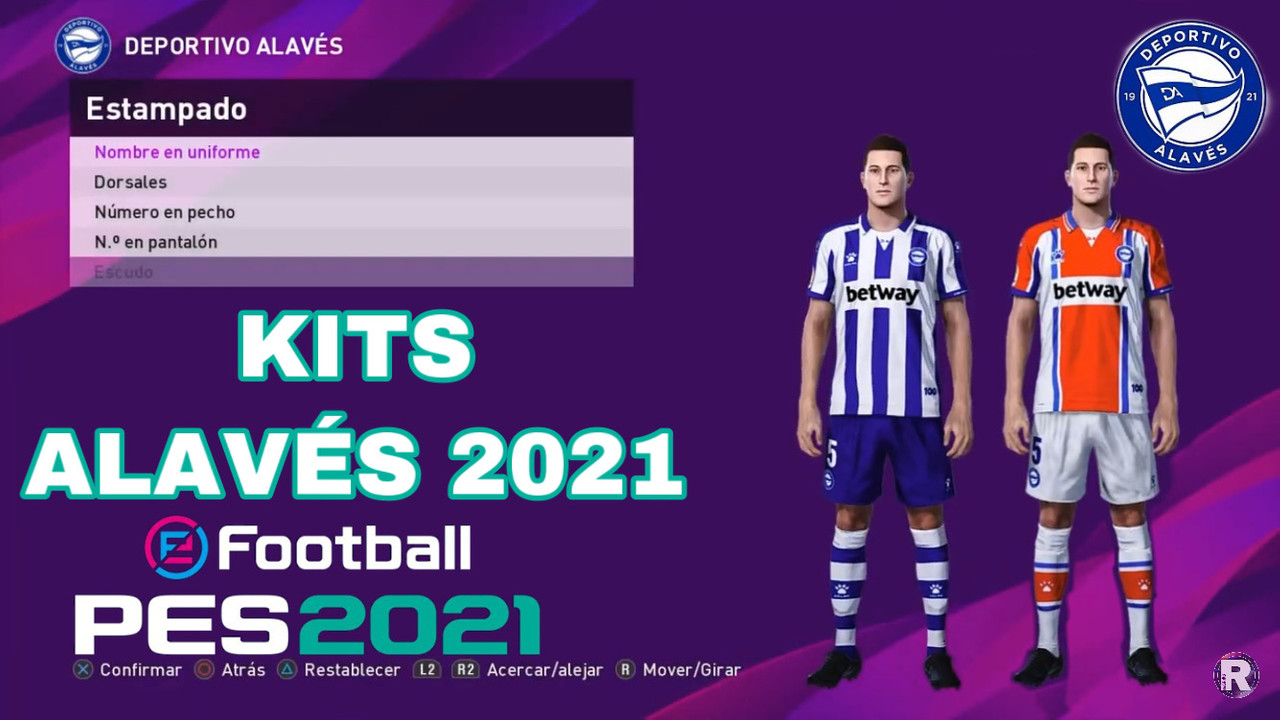 Kits Alaves 2020/2021 by IamRubenMg