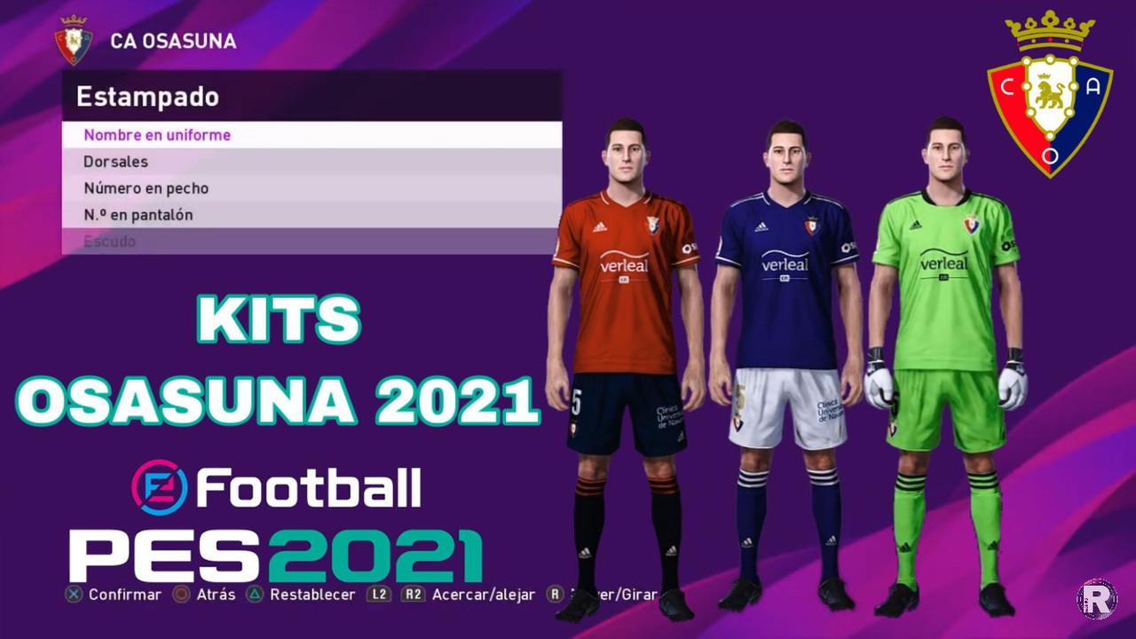 Kits Osasuna 2020/2021 by IamRubenMg
